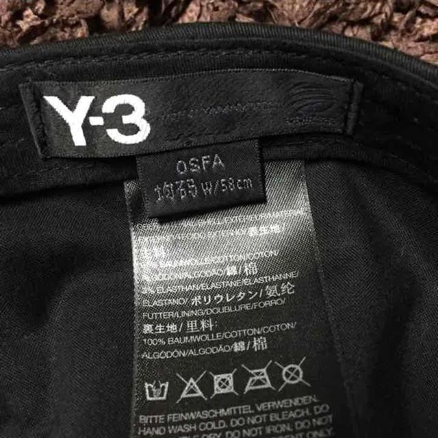 Y-3(ワイスリー)のY-3 LOGO BASEBALL ADJUSTABLE CAP メンズの帽子(キャップ)の商品写真