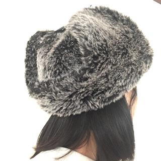 ジャーナルスタンダード(JOURNAL STANDARD)のジャーナルスタンダード ロシアン帽 ファー帽子 モコモコ ロシア帽子 ML(その他)