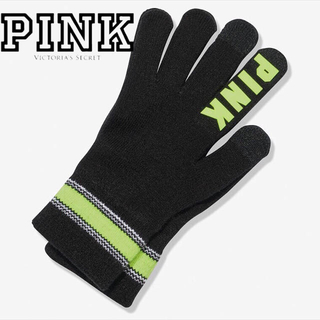 ヴィクトリアズシークレット(Victoria's Secret)の最新作♡PINK♡手袋 イエロー(手袋)