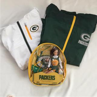 NFL Green Bay PACKERS チアリーダー人形 ジャケット セット(アメリカンフットボール)