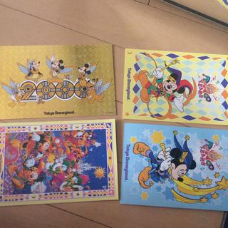 ディズニー(Disney)の限定ディズニーポストカード(写真/ポストカード)