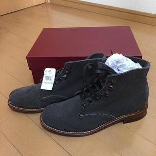 ウルヴァリン(WOLVERINE)の新品 wolverine w40193 グレー スウェード 26.5cm(ブーツ)