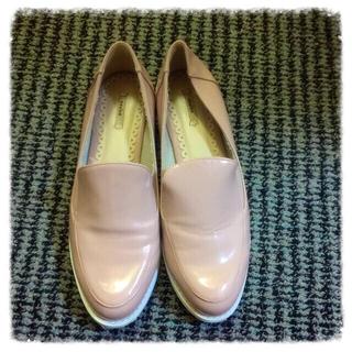 ランダ(RANDA)のピンクローファー(ローファー/革靴)