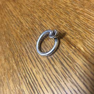 クロムハーツ(Chrome Hearts)のクロムハーツ クロスボール ネイルリング 8号 ピンキー(リング(指輪))