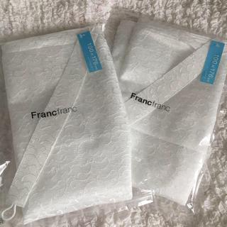 フランフラン(Francfranc)の❤️Francfranc❤️レースカーテンスコーレレ✨176㎝2枚(レースカーテン)