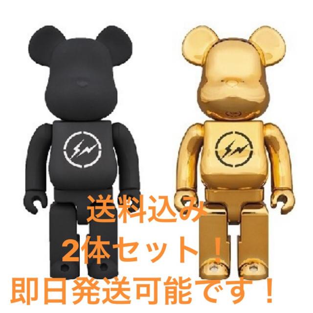 FRAGMENT(フラグメント)のbe@rbrick fragment 400% エンタメ/ホビーのおもちゃ/ぬいぐるみ(キャラクターグッズ)の商品写真