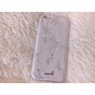 アイスー(i-SOOK)のisook 大理石柄 iPhoneケース(iPhoneケース)