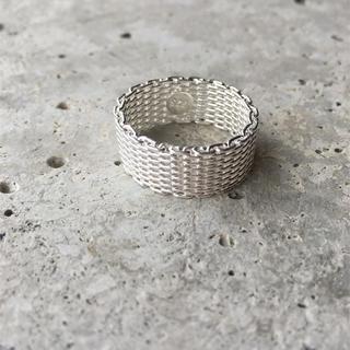 シルバーメッシュリング(リング(指輪))