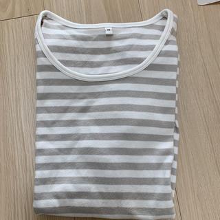 MUJI (無印良品) - オーガニックコットンストレッチ半袖Tシャツ