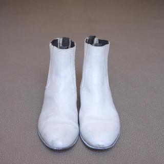 トーガ(TOGA)の値下げ ヴィンテージ サイドゴアブーツ ペンキ ブーツ タビ 足袋 マルジェラ(ブーツ)
