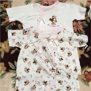ディズニー(Disney)のミニー 新生児肌着 4枚セット(肌着/下着)