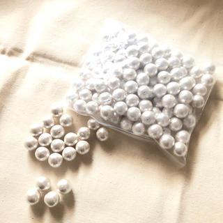キワセイサクジョ(貴和製作所)のコットンパール*12mmホワイト100個(各種パーツ)