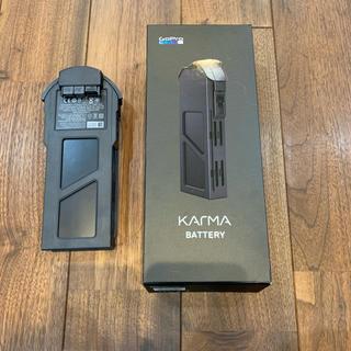 カルマ(KARMA)のgopro karma バッテリー(ビデオカメラ)