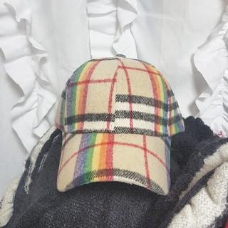 ジュエティ(jouetie)のRAINBOW CHECK CAP.(キャップ)