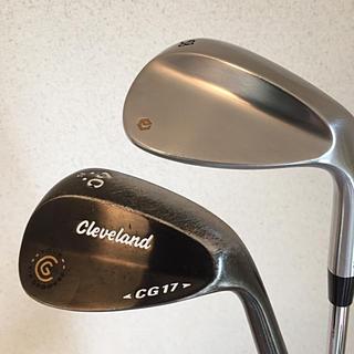 クリーブランドゴルフ(Cleveland Golf)のエポン ツアーウェッジ、クリーブランド CG17 2本セット(58.60)★(クラブ)