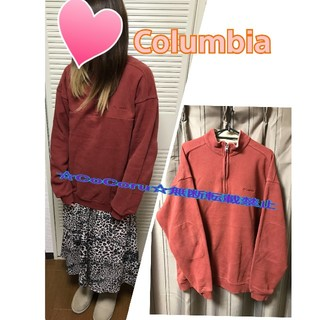 コロンビア(Columbia)の【中古】Columbia☆ハーフZIP☆プルオーバースウェット(トレーナー/スウェット)