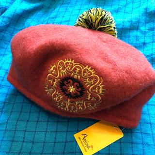 チチカカ(titicaca)の【Amira】ベレー帽(ハンチング/ベレー帽)