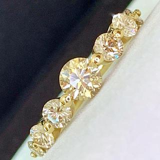 🌹azusa 様専用🌹【綺麗】究極の照り❣️高品質大粒♡ブラウンダイヤリング(リング(指輪))