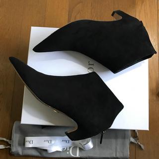 ディオール(Dior)のDior スエード ショート ブーツ 36.5 ロンハーマン  (ブーツ)
