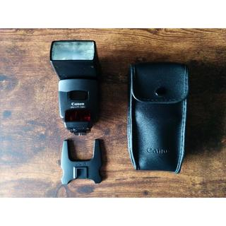 Canon - 【送料込み】Canon SpeedLite 420EX ケース付き