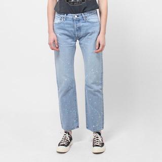 アンユーズド(UNUSED)のUNUSED UW0623 Painted Denim Pants(デニム/ジーンズ)