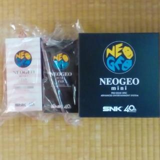 ネオジオ(NEOGEO)のネオジオミニとミニパッド 新品未開封(家庭用ゲーム本体)