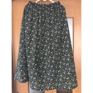 サンカンシオン(3can4on)のお値下げ 3can4on  花柄スカート(ロングスカート)