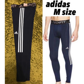 adidas - 【定価6,469円】新品adidas techfit ロングスパッツ Mサイズ