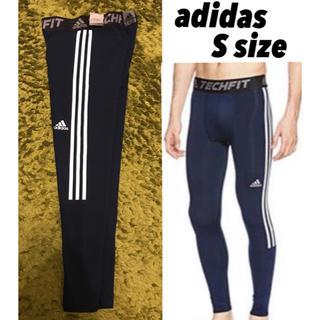 adidas - 【定価6,469円】新品adidas techfit ロングスパッツ Sサイズ