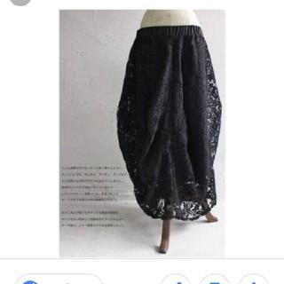 アンティカ(antiqua)のアンティカ 変形レーススカート(ロングスカート)
