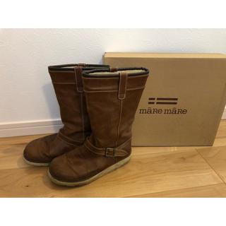 マーレマーレ デイリーマーケット(maRe maRe DAILY MARKET)の【箱付】mare mare ブーツ(ブーツ)