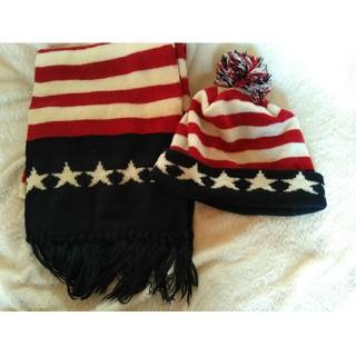 ニューヨークハット(NEW YORK HAT)のマフラー 帽子 セット(ニット帽/ビーニー)