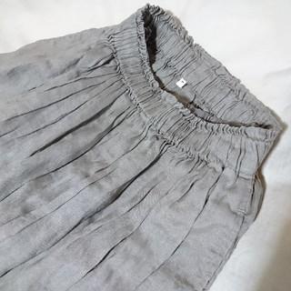 ムジルシリョウヒン(MUJI (無印良品))の無印良品  リネンスカート♪(ひざ丈スカート)