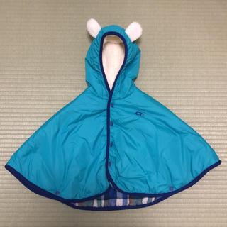 ハッカ(HAKKA)のHAKKA ポンチョ フリーサイズ 乳幼児(ジャケット/コート)