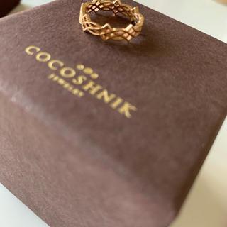 ココシュニック(COCOSHNIK)のCOCOSHNIK K10 リング(リング(指輪))