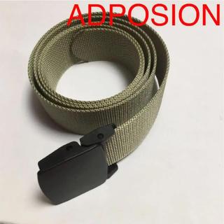 アドポーション(ADPOSION)の新品 ADPOSION アドポーション ベルト ロングベルト GI ナイロン(ベルト)