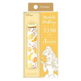 ディズニー(Disney)の新品☆スティック型 モバイルバッテリー ベル(バッテリー/充電器)