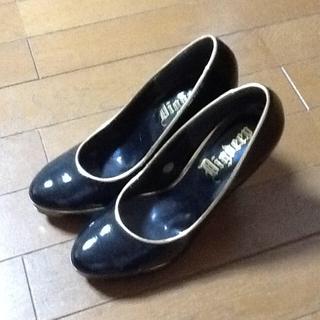 黒☆ハイヒールパンプス(ハイヒール/パンプス)