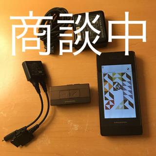 アマダナ(amadana)のドコモ ガラケー アマダナ N-04A(携帯電話本体)