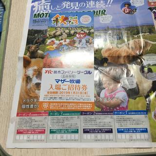 マザー牧場招待券(遊園地/テーマパーク)
