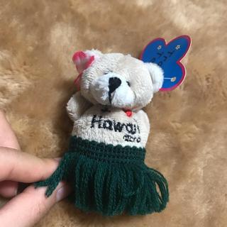 ハワイのクマのストラップ(キーホルダー)
