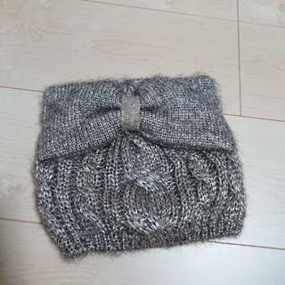 アンテプリマ(ANTEPRIMA)の美品 アンテプリマ ニット 帽 キラキラ(ニット帽/ビーニー)