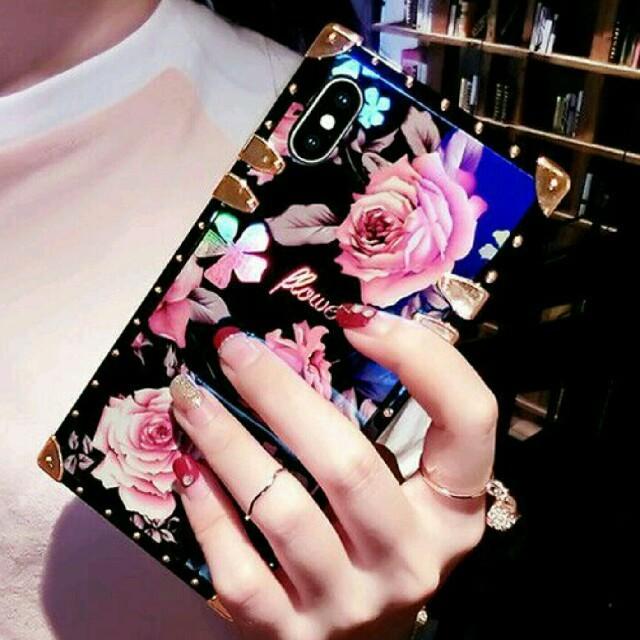 iphone7 ケース 手帳 花 | 大人気☆iPhoneケース スマホケース ローズ柄の通販 by ぴかる's shop|ラクマ
