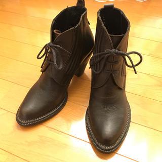 サヤラボキゴシ(SAYA / RABOKIGOSHI)のrabokigoshi works サイドゴア ショートブーツ(ブーツ)