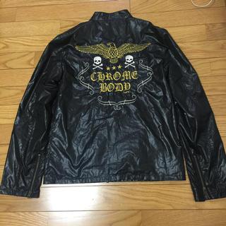 クローム(CHROME)のライダースジャケット Lサイズ(ライダースジャケット)