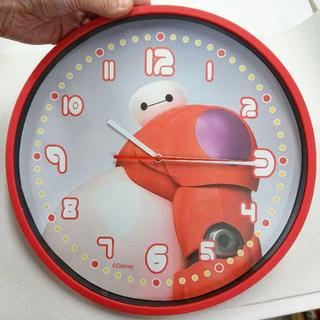 ディズニー(Disney)のベイマックス 壁掛け時計 30cm(掛時計/柱時計)