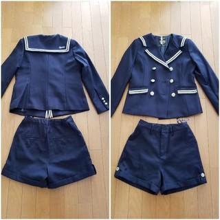 レピピアルマリオ(repipi armario)のレピピアルマリオ 卒服 ショートパンツスーツ上下セット Mサイズ(ドレス/フォーマル)