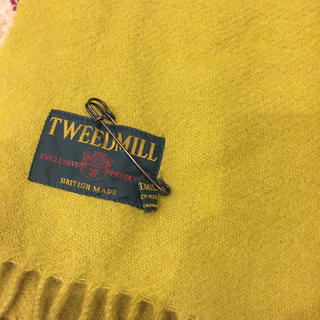 ツイードミル(TWEEDMILL)のTWEED MILL STOLE プレーンマフラー(ストール/パシュミナ)