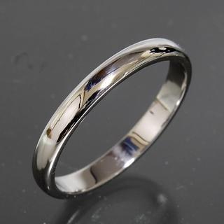 ティファニー(Tiffany & Co.)のティファニー TIFFANY&CO.シンプル プラチナ リング 21号(リング(指輪))