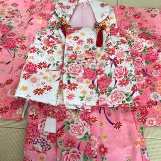 七五三♡女の子 3歳 着物セット(和服/着物)